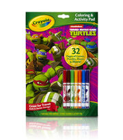 Crayola® Coloring And Activity Pad W/Markers-Teenage Mutant Ninja Turtles®, , hi-res