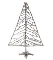Blooming Holiday Large Twig Tree-White Glitter, , hi-res