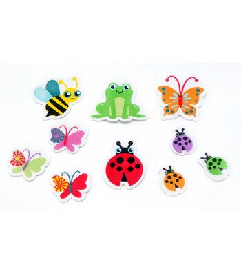 Foamies Printed Stickers Garden Creatures
