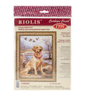 Riolis 11.75\u0027\u0027x15.75\u0027\u0027 Counted Cross Stitch Kit-Labrador
