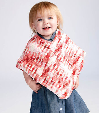 How To   Make A SIMPLE CROCHET BABY PONCHO