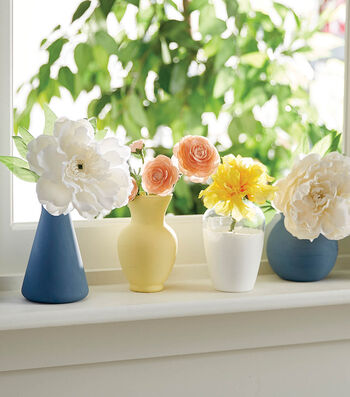 How To Make Painted Glass Vases