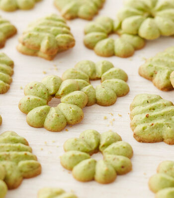 How To Make Pistachio Spritz Cookies