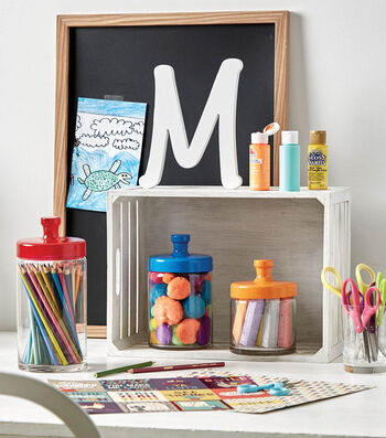 How To Make Colorful Craft Supply Organization