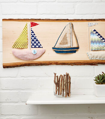 Create Boats On A Wooden Plank