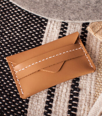 How To Make A Mini Leather Wallet