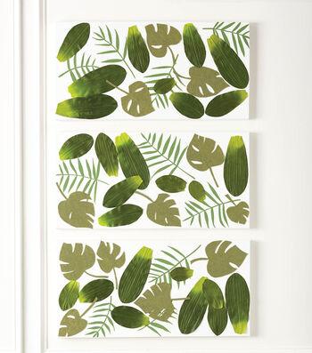 Canvas Palm Picture