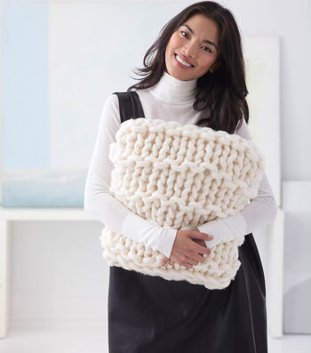 How To Make A Big Bold Pillow