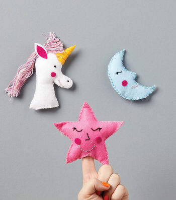 Make Fairy Tale Finger Puppets