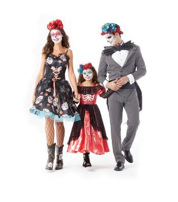 Sugar Skull Tuxedo Costume