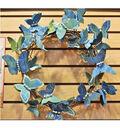 Blue Butterfly Wreath