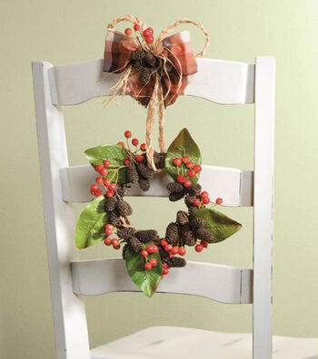 Chair Back Wreath