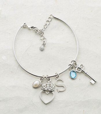 Make A Charm Bangle Bracelet