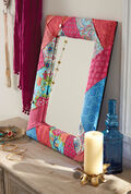 Buttercream™ Olivia Collection Fabric Covered Mirror