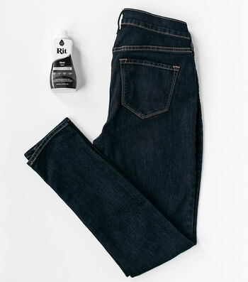 How To Dye Blue Jeans Black