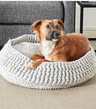 Make A Crochet Pet Bed Free Pattern