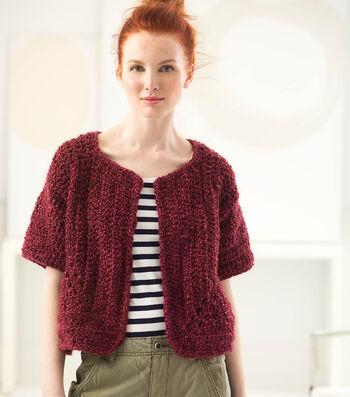 Crochet A Chatsworth Jacket