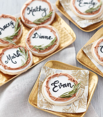 How To Make Place Card Cookies