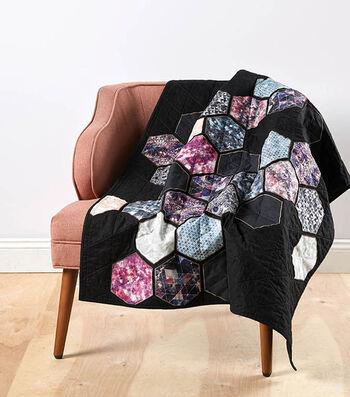 How To Make A Hexagonal Galaxy Quilt