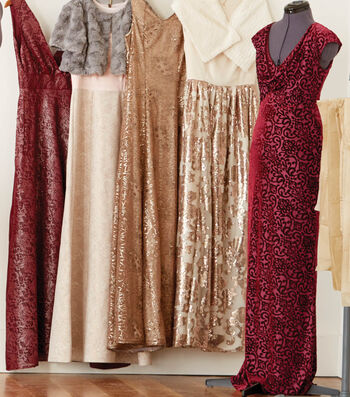 How To Make A Cap Sleeve Burgundy Dress