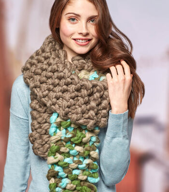 How To Knit the Color Dip Scarf