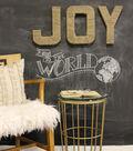 Jute Wrapped JOY Letters