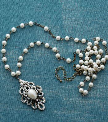 Make A Pearl Pendant Necklace