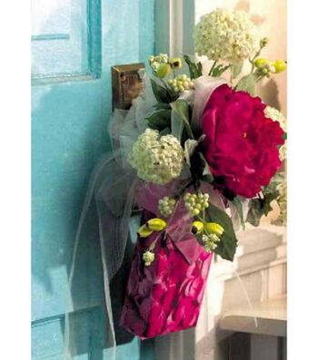 Floral Pew Bouquet