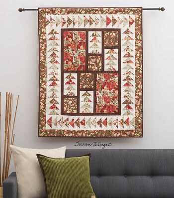 Sew A Birds View Quilted Wall Hanging