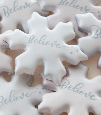 How To Make Inspiration Snowflake Cookies