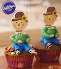 Jolly 3-D Scarecrow Cupcakes