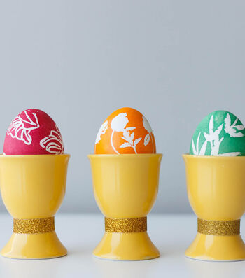 How To Make Egg Dye Stencils