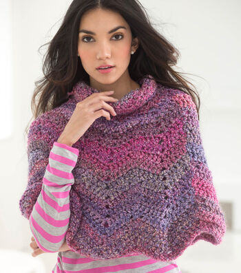 How To Make A Softly Rippled Poncho