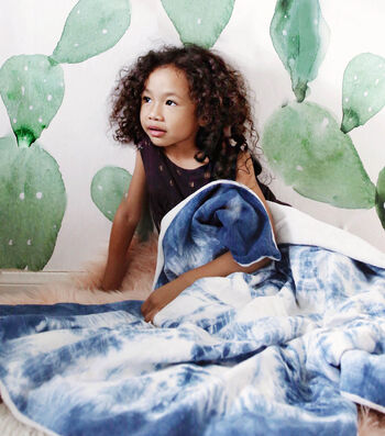 How To Make A Shibori Dyed Kids Blanket