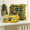 Packers Pillow, Blanket and Scarf Set