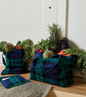 How To Make Flannel Totes Three Ways
