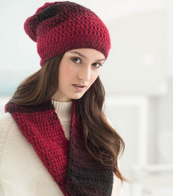How To Crochet a Scarfie Effortless Hat and Cowl