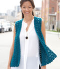 Simply Soft Drapey Crochet Vest