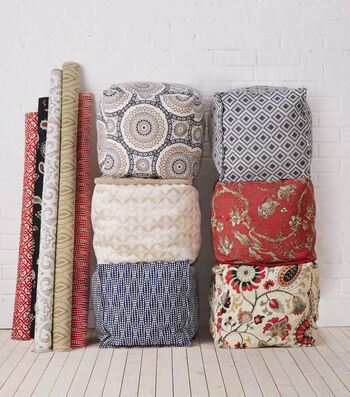 How to make Fabric Poufs