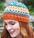Crazy for Color Cap (Knit)