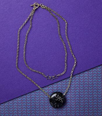 Make A Galaxy Necklace