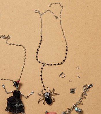 How To Make A Spider Necklace