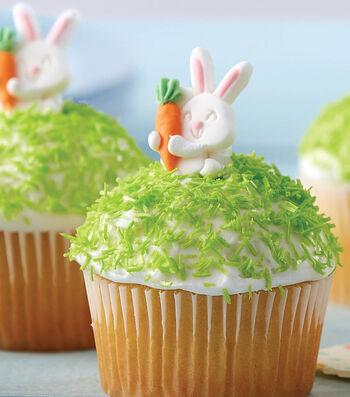 Bake Cutie Bunny and Carrot Cupcakes