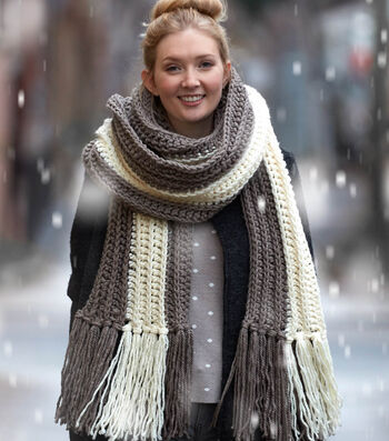 How To Make A Highline Crochet Scarf