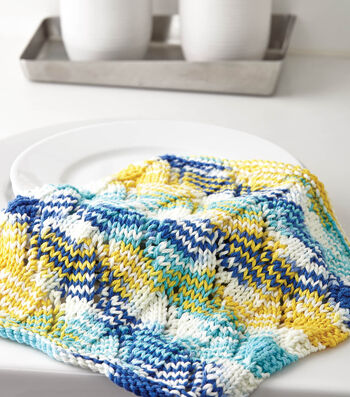 Sail Away Dishcloth