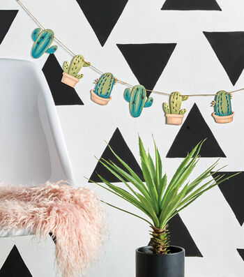 How To Make A Cactus Garland
