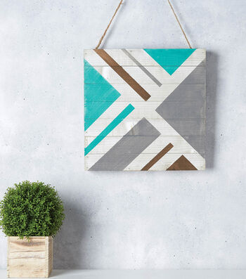 How to Make a Geometric Pallet