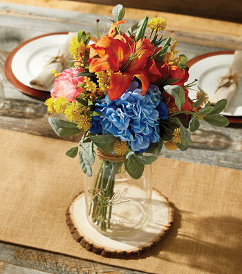 How To Make A Mason Jar Arrangement