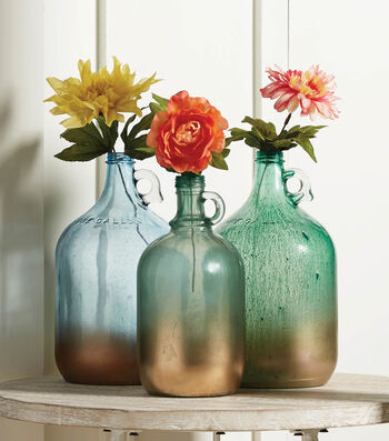 How To Make Painted Glass Gallon Jugs