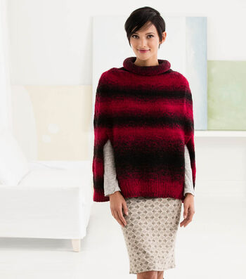 How To Knit A Rosewood Poncho